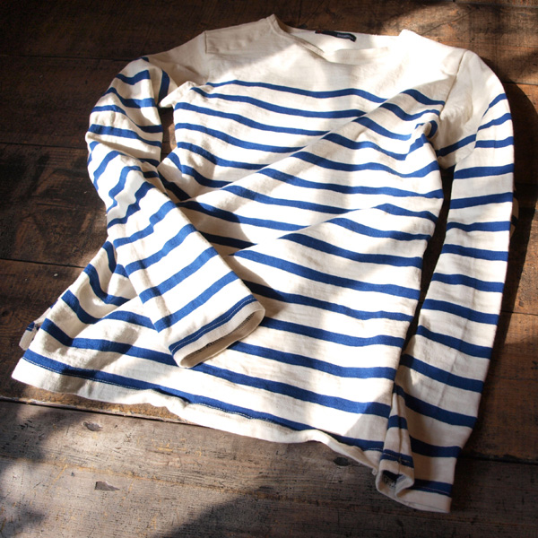 Un-dyed Loop Wheel Knit Basque Shirt